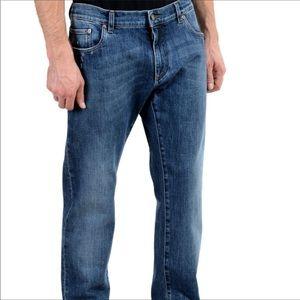 Dolce & Gabbana Slim Straight Leg Jeans